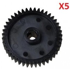 5xLower Roller Gear 43T Lexmark MX MS 710,810,811 812