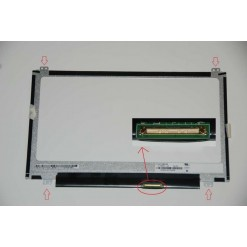 Display B116XTN04.0 Top/Bottom led 11.6
