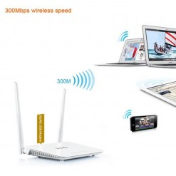Router Wifi per chiavetta internet USB 3G/LTE 4xLAN