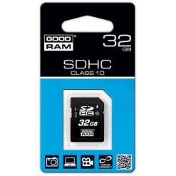 GOODRAM SD SDHC class 10 32 GB - retail blister