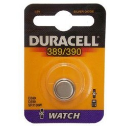 10 pile a bottone Duracell D389/390 1x 1,5volt - 10 blister