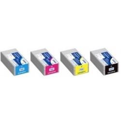 64ML Pigment para Ricoh GX2500,3000,3050,5050,7000Ciano