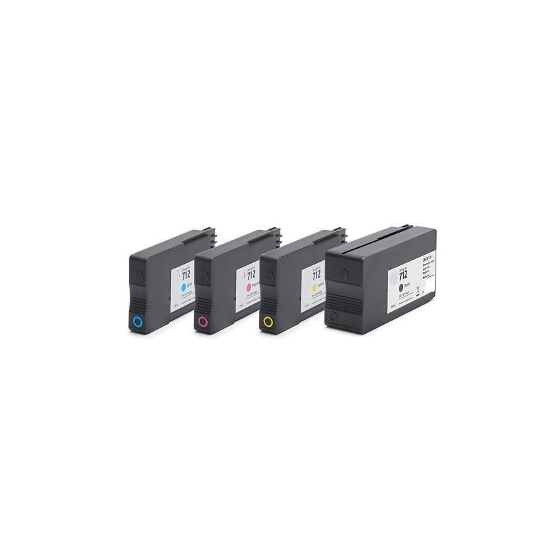 Pó de Toner Universal para vários OKI - Amarelo - 500 gr