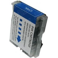 Compativel 38ML Brother  LC51 LC970 LC1000 Azul