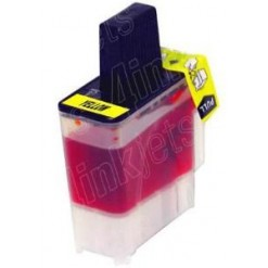 19ml Compativel Brother LC-900Y Amarelo  (LC-41 A)